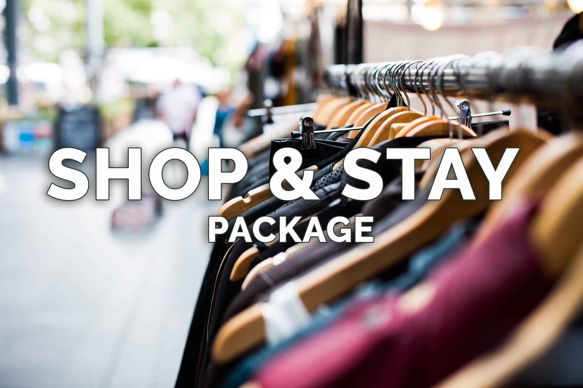 Shop and Stay Package - Get a $25 Gift Card