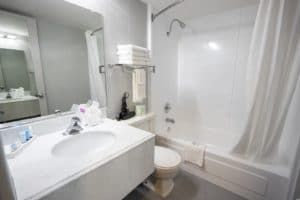 Thelodgeatportarrowhead Remodeled Guestbathrooms